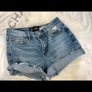 Hollister Cut-Off Jean Shorts